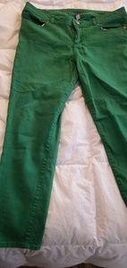Lauren conrad green jeans